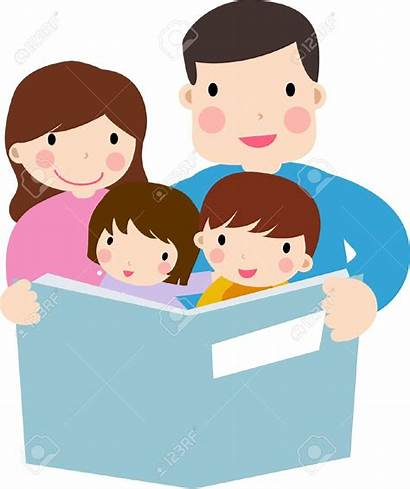 Clipart Reading Child Clip Parent Father Clipground