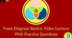 Venn Diagram Basics  Video Lecture With Practice Questions