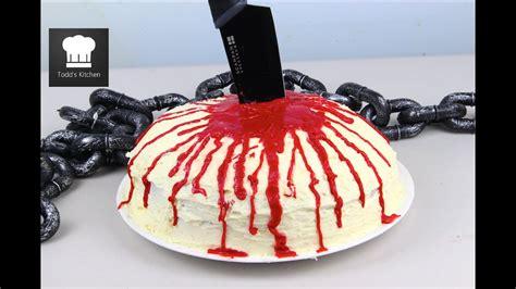 halloween blood cake youtube