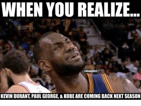 Kevin Durant Memes - 20 funny kevin durant memes for basketball fans love brainy quote
