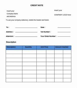 credit note template 19 free word pdf documents With credit note template doc