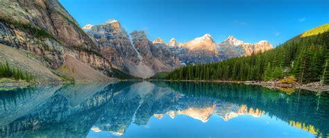 Photo Banff Canada Moraine lake Nature Mountains Lake