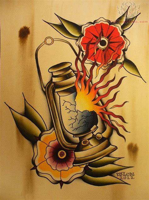 latest lamp tattoo designs