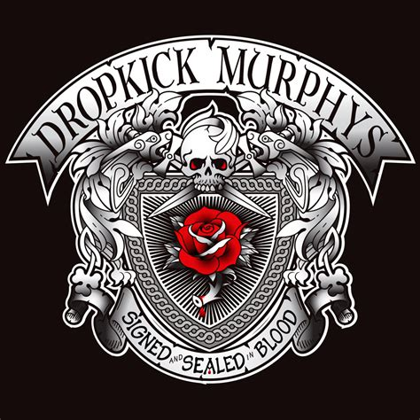 dropkick murphys signed  sealed  blood metalspree