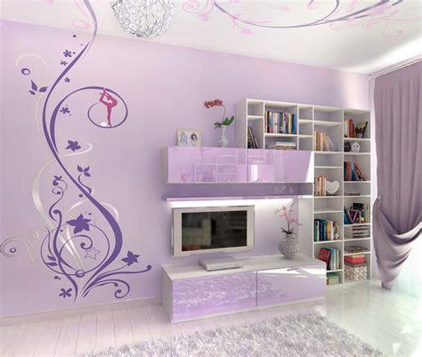 teenage bedroom ideas  wall mural interior design