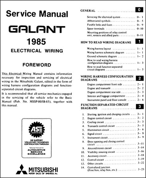 galant wiring diagram 21 wiring diagram images wiring