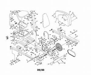 Proform Model Pfex37080 Cycle Genuine Parts