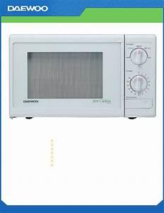 Daewoo Microwave Oven Kor