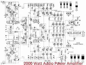 600 Watt Darlington Power Amplifier Circuit Jpg  400 U00d7370