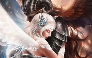 images of angels | Demon Angel Love Photos Images Pictures ...