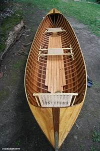Adirondack Guide Boat Handmade From Wooden Boat Plans