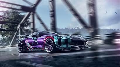 Corvette Heat Speed 4k Need Chevrolet C7