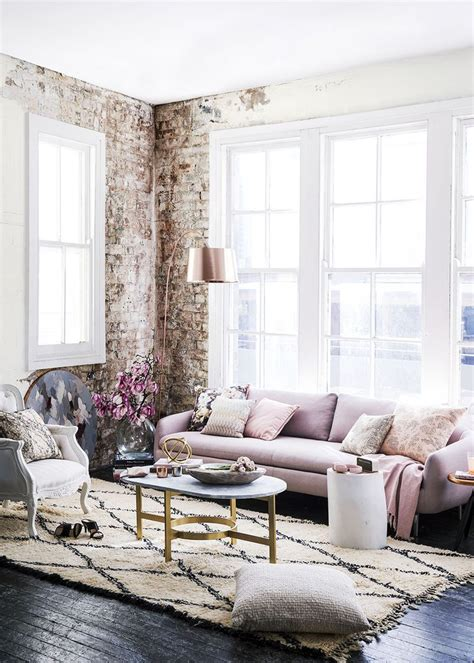 Industrial Design Wohnzimmer by Totally Industrial Living Room The Soft Colors