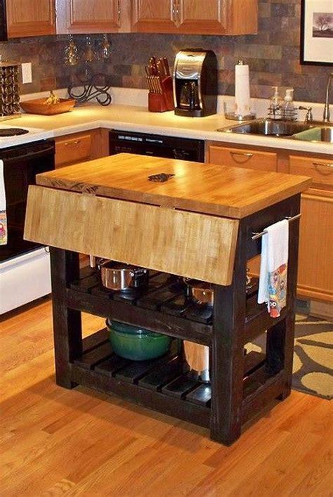 brilliant small kitchen island diys   small