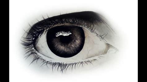 Cómo dibujar un ojo realista a lápiz paso a paso facil