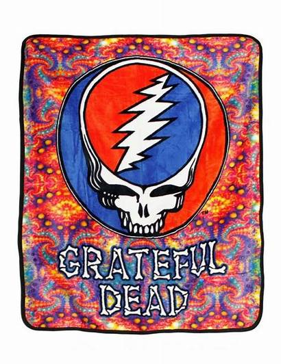 Grateful Dead Steal Face Fabric Fractals Coral