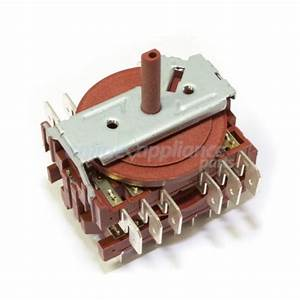 A  034  08 Selector Switch Square Ilve Oven Genuine Part Appliance Spare Parts Online