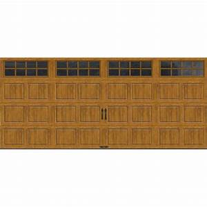 clopay gallery collection 15 ft 6 in x 7 ft 65 r value With 5 x 7 garage door