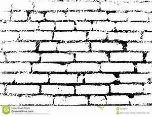 Old Vintage Brick Wall. Background, Pattern Black And ...