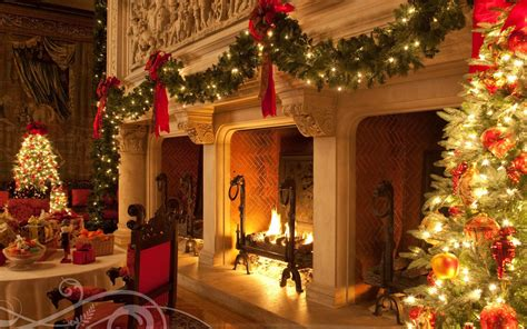Cozy Christmas Home Decor: Biltmore Christmas HD Desktop Wallpaper : Widescreen