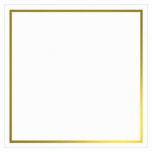 The gallery for --> Square Gold Frame Png