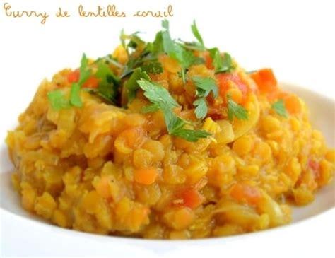 cuisiner les lentilles corail curry de lentilles corail dahl