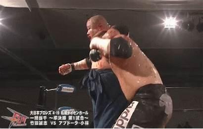 Japan Wrestling Pro April Slam Board Nail