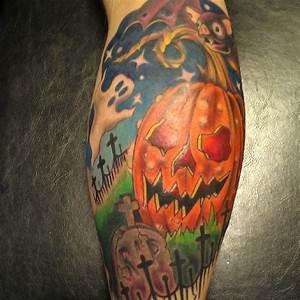 12 Horrifying Halloween Pumpkin Tattoo Designs