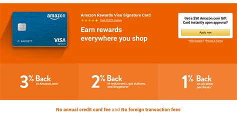 Apply for amazon store card. I love credit cards that offer rewards- http://amzn.to/2pLeeGC   Signature cards, Amazon rewards ...