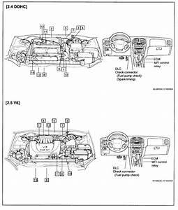 2000 Mazda 626 V6 Egr Location