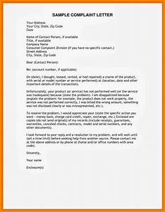 7 example complaint letter block style bike friendly With formal letter of complaint to employer template