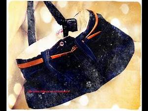 Faire Un Sac : diy n 1 transformer un jean en sac main youtube ~ Nature-et-papiers.com Idées de Décoration