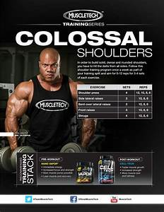 In Order To Build Solid  Dense And Rounded Shoulders  You Have To Hit The Delta From All Sides
