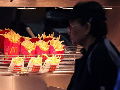 Why Mcdonald's Is Rationing Its French Fries In Japan