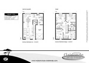 plan maison 4 chambres etage plan de maison a etage plans de maisons avec tage ou
