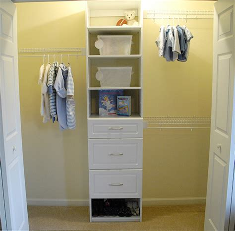 nursery closet makeover living rich on lessliving rich