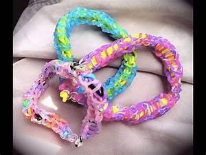 Bracelet Avec Elastique : bracelet lastique torsad facile avec les doigts youtube ~ Melissatoandfro.com Idées de Décoration