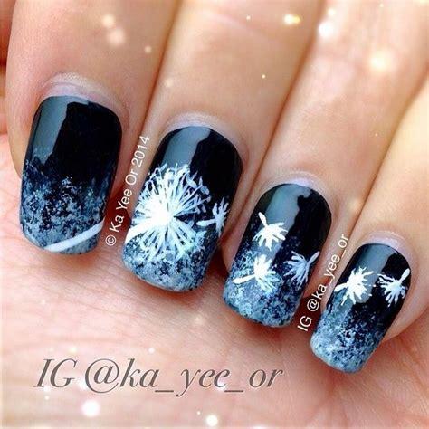 cute dandelion nail art designs  tutorials