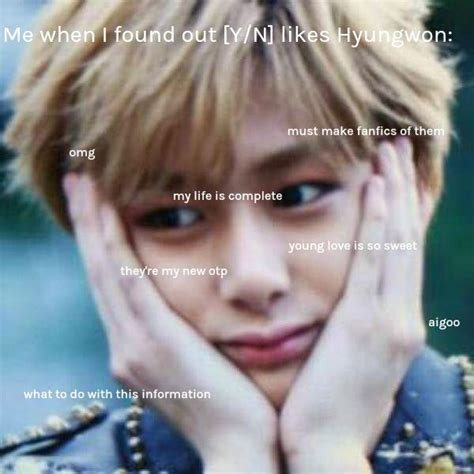 Hyungwon Memes - best 134 hyungwon monsta x images on pinterest celebrities
