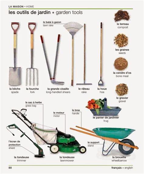 tools used for gardening 218 best images about fle lexique de la maison on