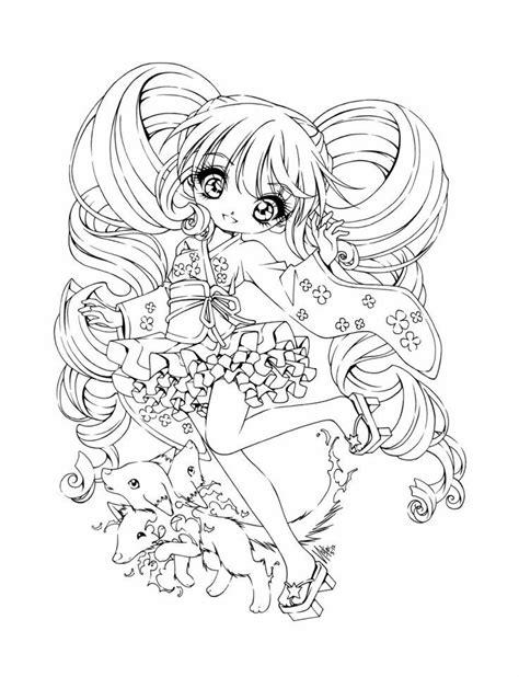 Anime Kleurplaat by Meisjes Kleurplaten Coloring Pages Chibi Coloring