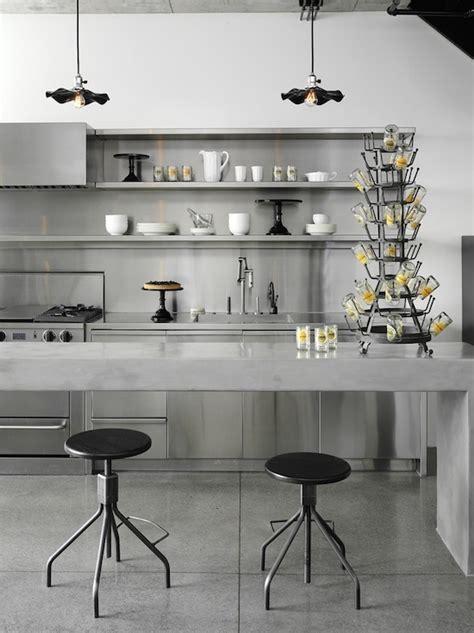 concrete kitchen design concrete kitchens Industrial