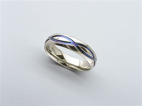 Infinity Ring Infinity Wedding Band Zirconium Wedding Band