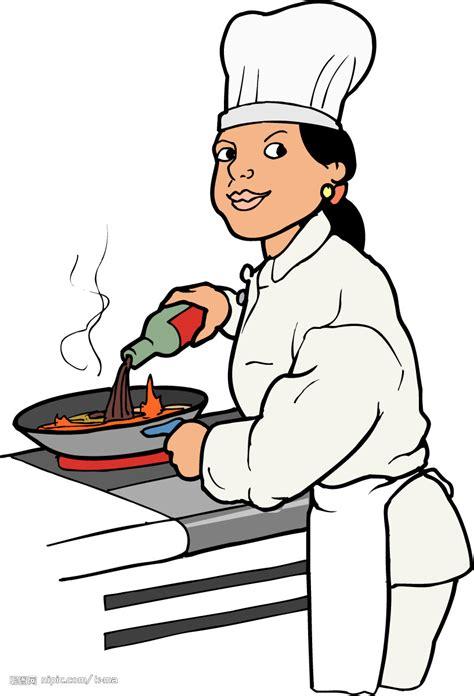 chef de cuisine collective 厨师矢量图 职业人物 人物图库 矢量图库 昵图网nipic com