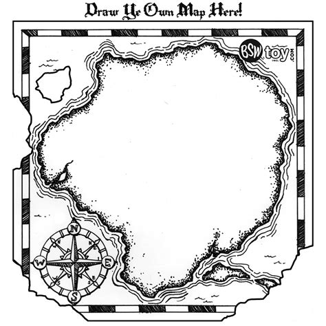 map template treasure hunt map template clipart best