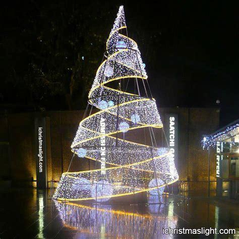 modern led spiral large christmas trees ichristmaslight