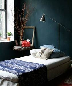 Style de chambre simple for Idee deco cuisine avec grand lit