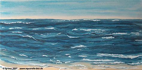 bild meer indigo maritim  von birgit exter bei kunstnet