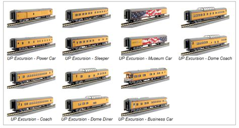 Model Train Specials | Kato #106-086 Union Pacific ...