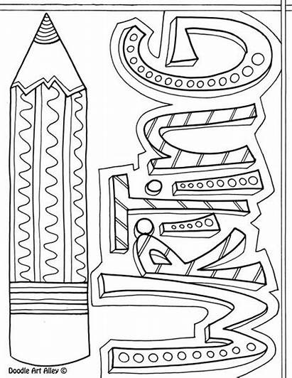 Notebook Printable Writing Doodle Math Covers Coloring